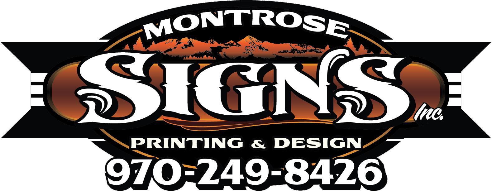 Image result for montrose signs montrose co